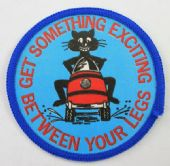 Get Something Exciting Between Your Legs - Printed Patch